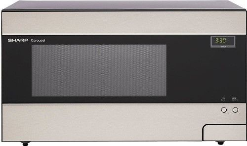 Sharp Countertop Microwave Dimensions : Sharp R-426LS Refurbished Family-Size Countertop Microwave Oven ...