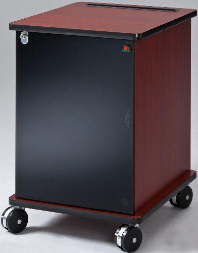 avf furniture. AVF Audio Visual Furniture International RACK16DC Deluxe Mobile Rack Dark Cherry Grade Laminate Finishes EIA Compliant Threaded Rails Avf