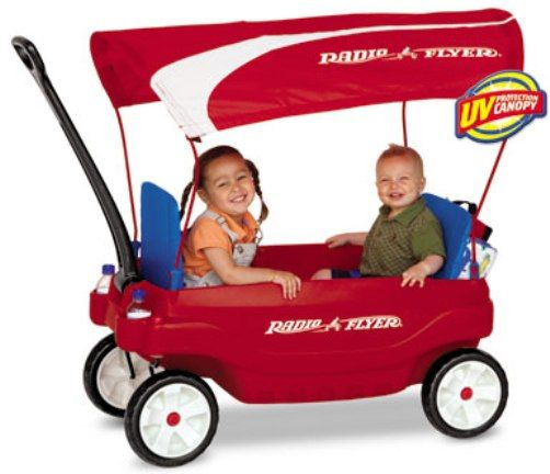 """Radio Flyer Radio Flyer Pack and Go Canopy Wagon"" - Shopping.com"