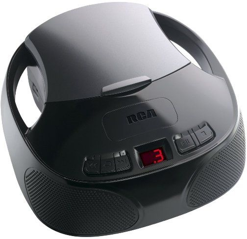 Rca rcd3379 portable cd player with am fm radio top loading cd player am fm stereo tuner - Porta cd design ...