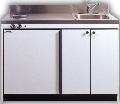 Charmant Acme Kitchenettes RES9Y 48 Compact 48 Inch Kitchen With 2 Electric Burners,  Sink And Compact Refrigerator, 6.0 Cu. Ft. Removable Refrigerator Including  A 30 ...