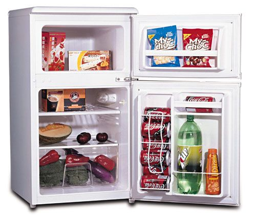 Etonnant Sunpentown RF 320W Double Door Compact Refrigerator, 3.2 Cu.Ft., White