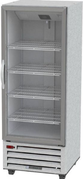 Beverage Air RI18HC-G One Section Glass Door Reach-In Refrigerator - 27