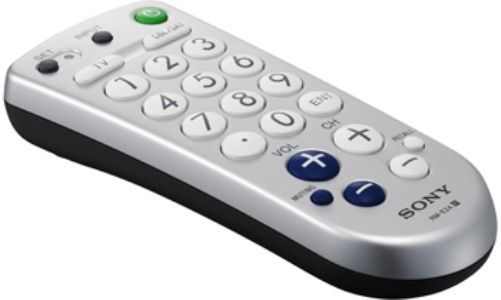 Universal tv remote control large buttons
