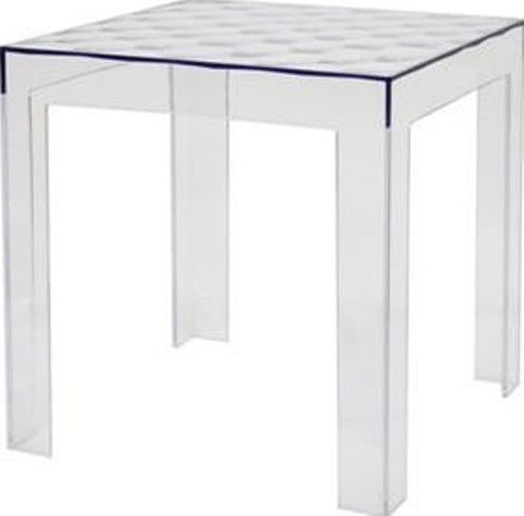 Wholesale Interiors Rt 637 Parq Clear Acrylic Modern End