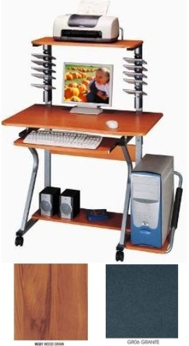 check out 53634 246c5 Techni Mobili RTA-2350B Computer Desk, Straight View Series ...