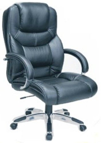 Techni Mobili RTA-2819H Executive Leather Office Chair, Black ...