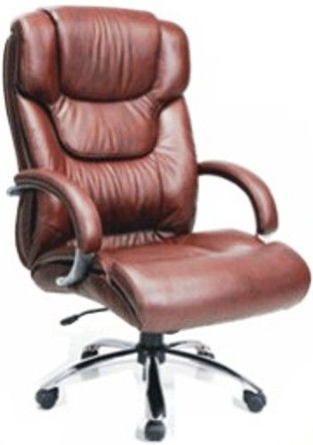 Techni Mobili RTA2826H Executive Leather Office Chair Brown Has