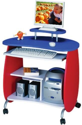 Techni Mobili Space Saver Computer Desk Techni Mobili