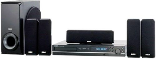 RCA RTD317W DVD Home Theater System, 250 watts total power, HDMI ...