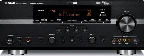 Yamaha rx v861 digital home theater receiver 7 channel for Yamaha multi zone receiver
