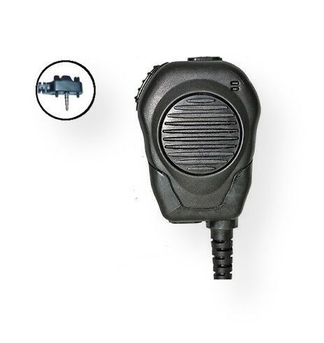 Klein Electronics VALOR-Y4 Professional Remote Speaker Microphone, 2 Pin with Y4 Connector, Black; Push to talk (PTT) and speaker combo; Compatible with Vertex radio series; Shipping weight 0.55 lbs; UPC 689407530756 (KLEINVALORY4B KLEIN-VALORY4 KLEIN-VALOR-Y4-B RADIO COMMUNICATION TECHNOLOGY ELECTRONIC WIRELESS SOUND)