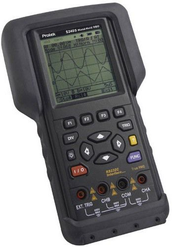 Pro Tek Oscilloscope : Protek s u hand held ms mhz dso dmm oscilloscope