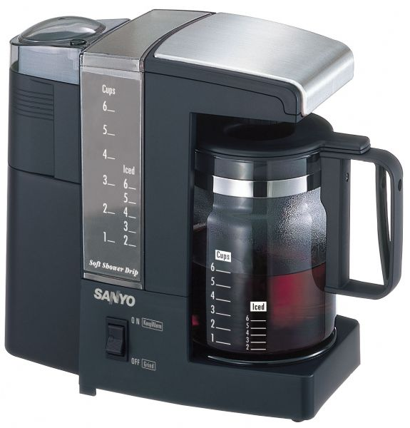 Sanyo Sac Mst6 Coffee Tea Maker W Built In Grinder 6