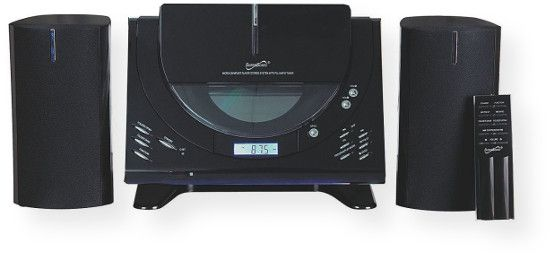 Supersonic SC3499BT Bluetooth CD MP3 Mini System; Black; Vertical Loading CD/MP3 Player; Built in BT Allows You to Wirelessly Stream Music from AnyBT Enabled Device Such as a Smartphone, Notebook or Tablet . Secure and SimplePairing for User Friendly Operation; PLL AM/FM Stereo Tuner Digital Readout; UPC 639131234994 (SC3499BT SC3499-BT SC3499BTCDMP3 SC3499BT-CDMP3 SC3499BTSUPERSONIC SC3499BT-SUPERSONIC)