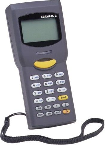 Honeywell SCANPAL-2CE-US ScanPal2 Mobile Computer with CCD Scanner, Serial Interface, Built-in IR, NiMH Rechargeable Battery, Charging Cradle and AC adapter, 128 x 64 pixel back-lit LCD display, 16-bit CMOS processor, LED 610 nm - 623 nm, Withstands multiple 4' (1.2m) drops, 1 MB SRAM stores over 50K records (SCANPAL2CEUS SCANPAL2CE-US SCANPAL-2CEUS)