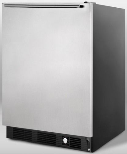 Summit SCFF55BIMSSHH Frost Free Freezer For Built In Undercounter Use With St