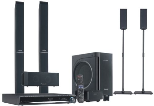 Panasonic SCPT960 Premium Sound 1250W DVD Home Theater System with