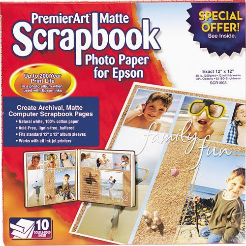 Scrapbook Paper Weight