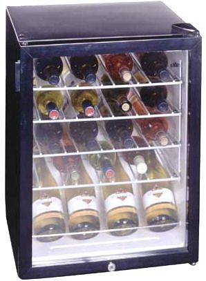Summit Scr310l Wc 24 Botle Wine Cooler Cellar With