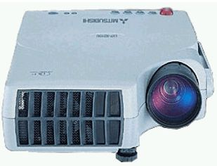 Mitsubishi sd 10u micro mobile dlp projector 1200 ansi for Micro dlp projector