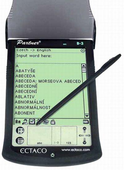 Ectaco SDN450 English-Czech-German-Slovak SENCOR Talking Dictionary