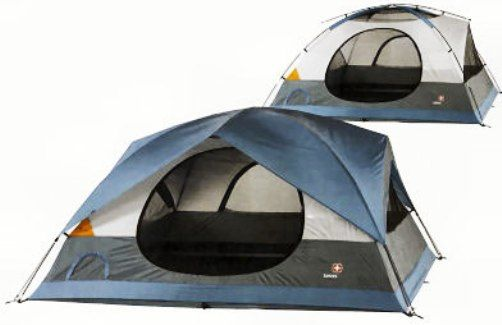 Wenzel SG33027 Swiss Gear Grindelwald ll Family Dome Tent Color coded set-up Snag-free zipper covers ...  sc 1 st  SaleStores.com & SG33027 Swiss Gear Grindelwald ll Family Dome Tent Color coded ...