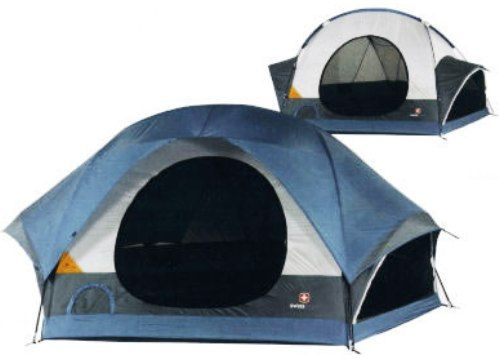 Wenzel SG33028 Wenzel Swiss Gear Kandersteg ll Family Dome Tent Color coded set-up Snag-free zipper ...  sc 1 st  SaleStores.com & SG33028 Wenzel Swiss Gear Kandersteg ll Family Dome Tent Color ...
