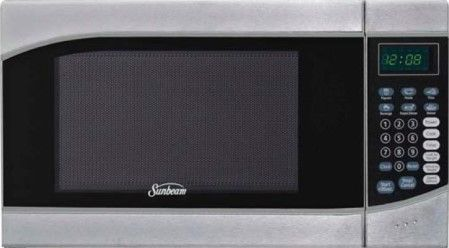 Sunbeam Sgh6901 Microwave Oven Stainless Steel 0 9 Cu Ft