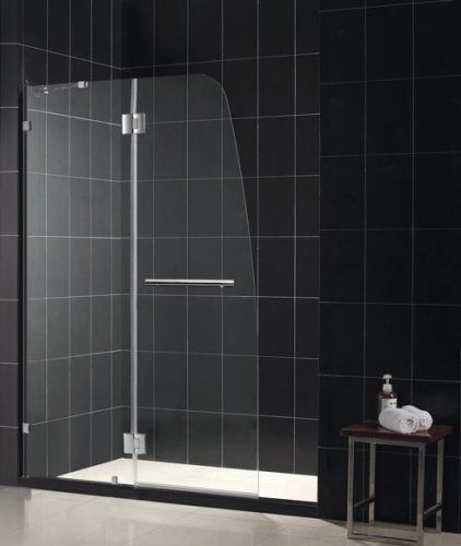 Dreamline Shdr 3345728 01 Aqua Lux Clear Glass Shower Door