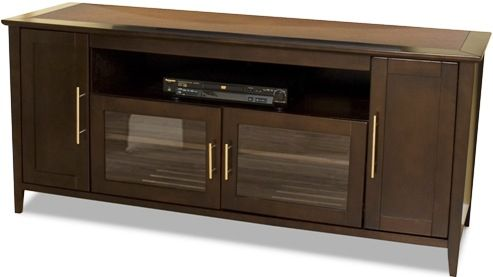 Tech craft shk6428e veneto tv stand in espresso wood for Tech craft tv stands