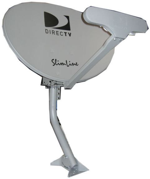 DirecTV SLSPF Slim Line Dish Antenna, To be used to pick up high ...