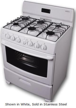 6 burner gas cooktop with griddle sunbeam range inch oven racks stainless steel 3gmlza 3gmlz used commercial stove wolf