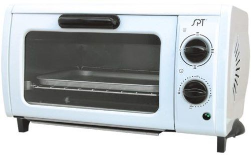 Sunpentown So 1004 Multi Functional Pizza And Toaster Oven White 30 Minutes Timer 950 Watts