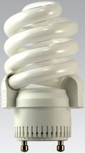 sp18 27 gu24 model 05256 twist pin base compact fluorescent light bulb. Black Bedroom Furniture Sets. Home Design Ideas