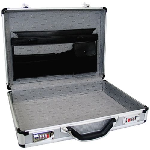 Superior Spc931 Aluminum Briefcase Inside Is A Luxurious