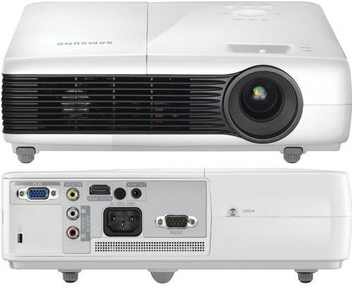 Samsung SP-M250 Classroom LCD Data Projector, 2500 Max ANSI Lumens, 1024 x 768 Native Resolution, 500:1 Contrast Ratio, 3-chip LCD Optical Engine Display Technology, 30-80 KHz H-Sync Range, +/- 20� Keystone Correction, 300