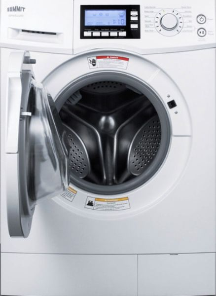Non Vented Dryer ~ Summit spwd front load non vented wide washer dryer