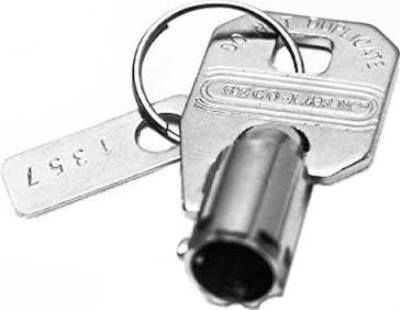 Seco-Larm SS-090KN-3 Extra Pre-cut Brass Tubular Key for use with SS-090 Series High-Security Tubular Key Locklocks, Key #1303, UPC 676544008163, Price per Unit but sold in MULTIPLES OF 5 only (SS090KN3 SS090KN-3 SS-090KN3)