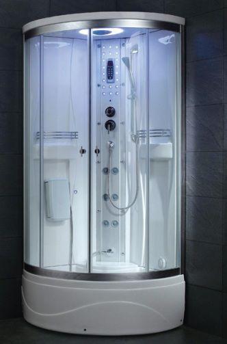 ariel ss902a steam shower unit steam function 6 body massage jets 4 back acupuncture water massage jets foot massage system overhead rainfall shower