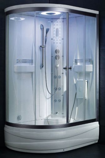 Ariel SS 903A Steam Shower Unit Steam Function 6 Body Massage Jets