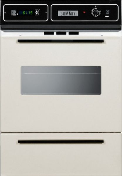 Summit Stm 721 2kw Built In 24 Quot Wall Oven Bisque
