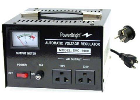 Powerbright Svc 1000 Voltage Regulator 1000 Watt Heavy Duty Voltage Regulator For Continuous
