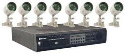 Swann SW244-X6B Platinum DVR 8-Camera Kit Security Camera