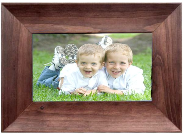 Sungale SW7A-072 Digital Picture Frame with Speaker 7\