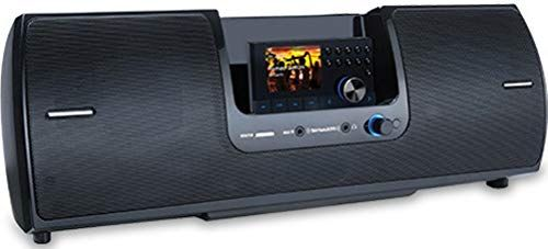 SiriusXM SXSD2 Universal Portable Docking Station; Enjoy Class-leading Sound Quality with Full Audio Range Provided by a 2.1 System with Separate Tweeters, Mid-range Speakers and a Powerful Subwoofer That Delivers Hard-hitting Bass Response; Stylish and Refined Design is an Elegant Addition to Any Home or Office; UPC 884720013249 (SX-SD2 SXS-D2 SXSD-2 SXSD 2)