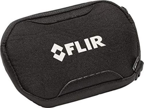 FLIR T130129ACC Cx Series Pouch Case For use with FLIR C2 and C3 Pocket-sized Thermal Cameras, Protects Camera From Dirt and Debris, Made From a Durable Nylon Material, Size (LxWxH) 150 x 105 x 25 mm (5.9