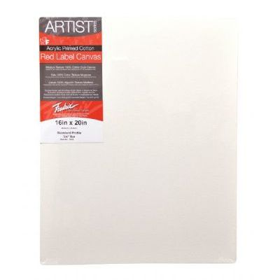 Fredrix 5030 Stretched Canvas 24 x 30 inches, Color White/Ivory; Features superior quality, medium textured, duck canvas; Canvas is double primed with acid free acrylic gesso for use with oil or acrylic painting; It is stapled onto the back of standard stretcher bars (11/16 x 1 9/16 inches); Paint on all four edges and hang it with or without a frame; Shipping Dimensions 25.00 x 31.00 x 5.00 inches; Shipping Weight 2.25 lbs; UPC 081702050302 (T5030 T-5030 T/5030 FREDRIX5030 FREDRIX-5030)