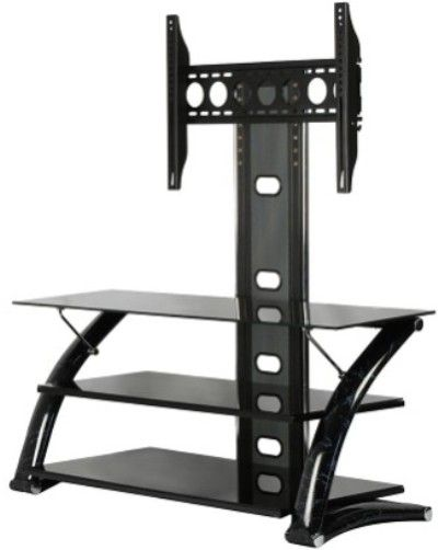 Innovex Tb008gbm Leda Tv Stand Collection Black Marble Comes With