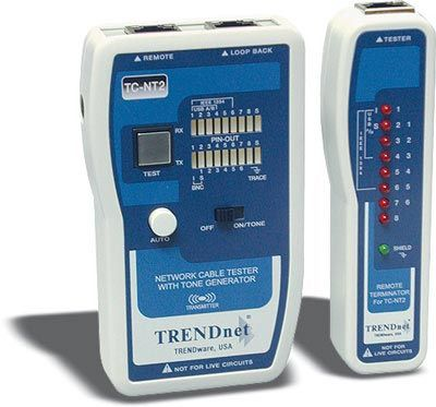 Trendnet Tc Nt2 Professional Cable Tester With Tone